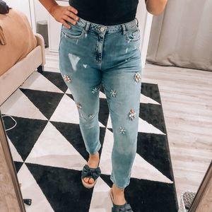 Pilcro | Jewel Distressed Skinny Jeans